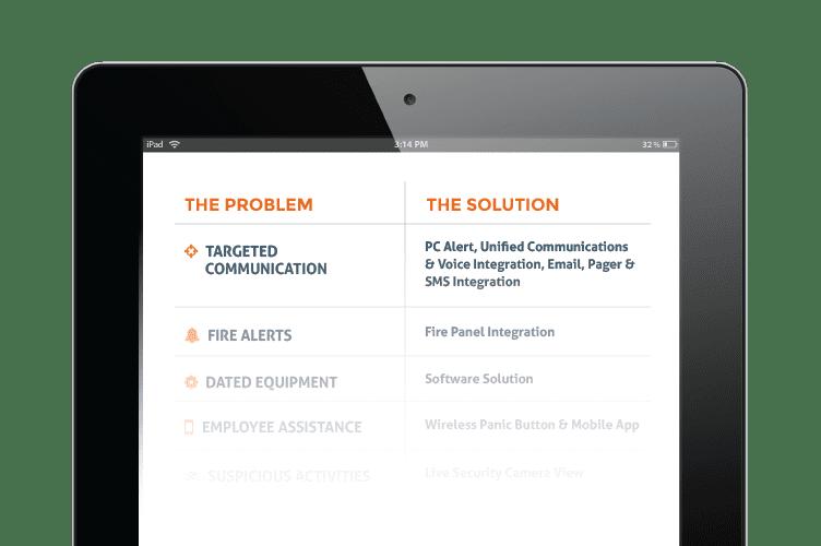 Emergency Communications Software