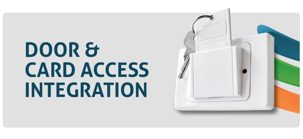 Door card access integration by Layered Solutions