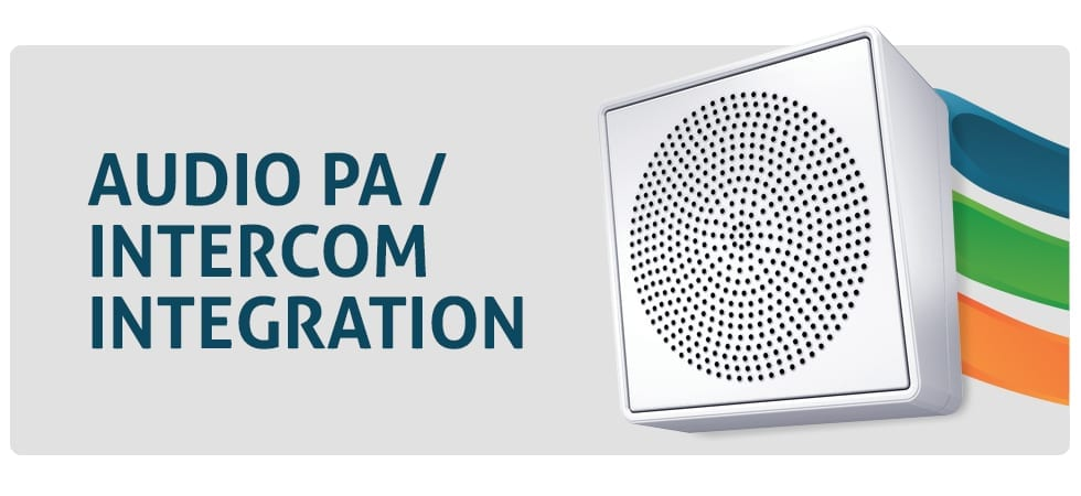 Audio PA and Intercom Solutions from Layered Solutions